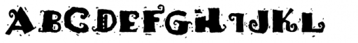 Fajita ICG Picante Font UPPERCASE