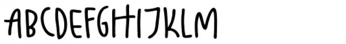 Fajny Bold Font UPPERCASE