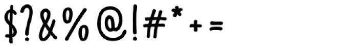 Fajny Extra Black Font OTHER CHARS