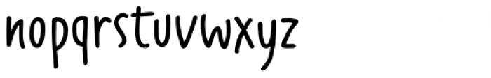 Fajny Extra Bold Font LOWERCASE