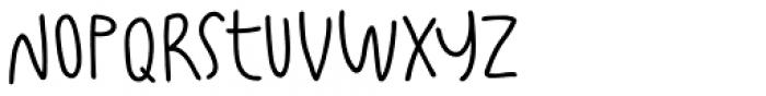 Fajowy Light Font LOWERCASE