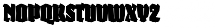 Fakir Display Pro Black Cond Font UPPERCASE