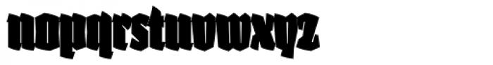 Fakir Display Pro Black Cond Font LOWERCASE
