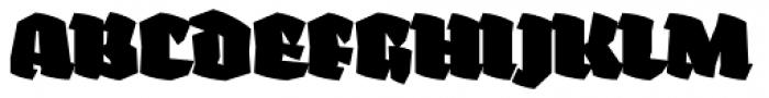 Fakir Display Pro Black Font UPPERCASE