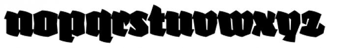 Fakir Display Pro Black Font LOWERCASE
