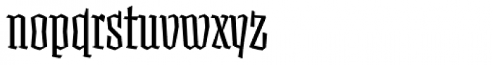 Fakir Display Pro Cond Font LOWERCASE