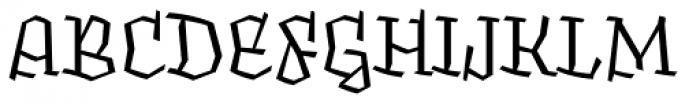 Fakir Display Pro Font UPPERCASE