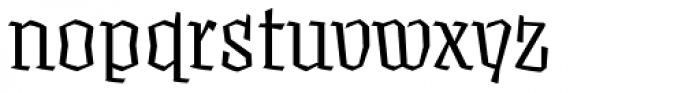Fakir Display Pro Font LOWERCASE