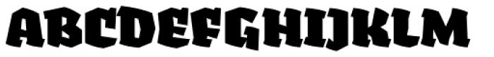 Fakir Pro Black Font UPPERCASE