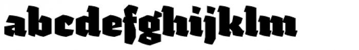 Fakir Pro Black Font LOWERCASE