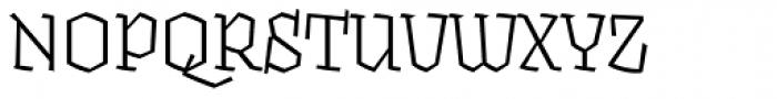 Fakir Pro Italic Font UPPERCASE