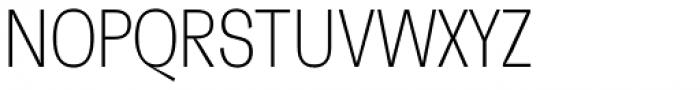 Faktum XCond Extra Light Font UPPERCASE