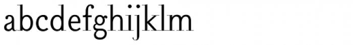 Falace Light Font LOWERCASE