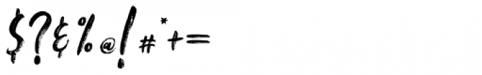 Falbench Regular Font OTHER CHARS
