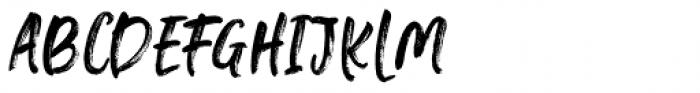 Falbench Regular Font UPPERCASE