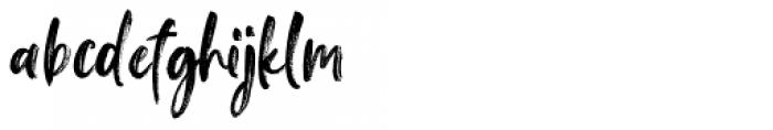 Falbench Regular Font LOWERCASE