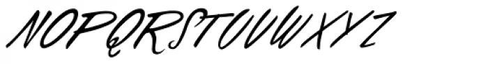 Falcon Brushscript Font UPPERCASE