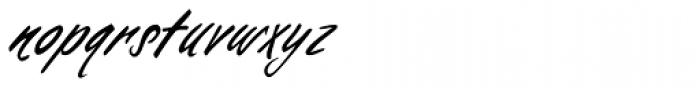 Falcon Brushscript Font LOWERCASE