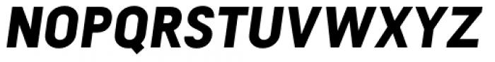Falena Black Italic Font UPPERCASE