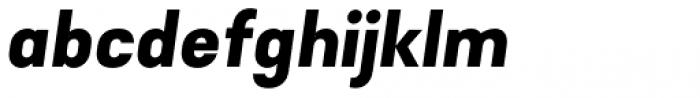 Falena Black Italic Font LOWERCASE