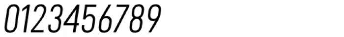 Falena Extra Light Italic Font OTHER CHARS
