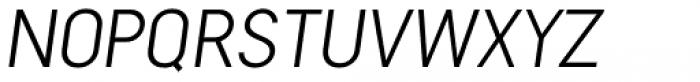 Falena Extra Light Italic Font UPPERCASE