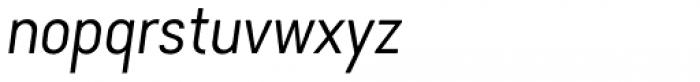 Falena Extra Light Italic Font LOWERCASE