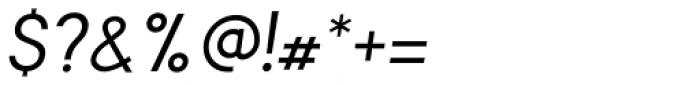 Falena Ligt Italic Font OTHER CHARS