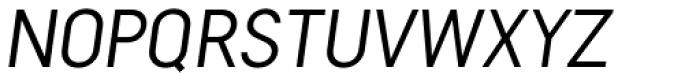 Falena Ligt Italic Font UPPERCASE