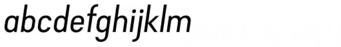 Falena Ligt Italic Font LOWERCASE