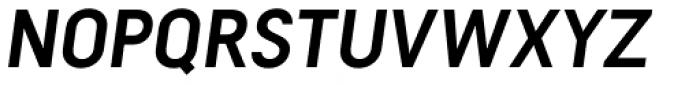 Falena Semi Bold Italic Font UPPERCASE