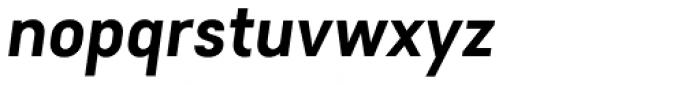 Falena Semi Bold Italic Font LOWERCASE