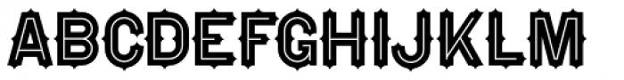 Falfurrias NF Font UPPERCASE