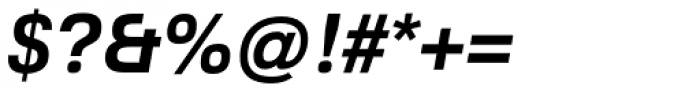 Familiar Pro Bold Oblique Font OTHER CHARS
