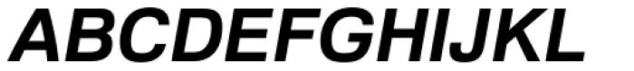 Familiar Pro Bold Oblique Font UPPERCASE