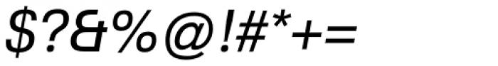 Familiar Pro Oblique Font OTHER CHARS