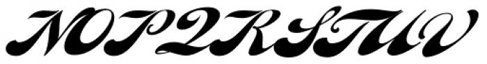 Fan Script Font UPPERCASE