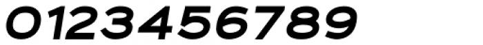 Fancy Black Oblique Font OTHER CHARS