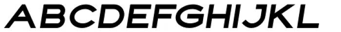 Fancy Black Oblique Font UPPERCASE