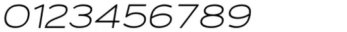 Fancy Light Oblique Font OTHER CHARS