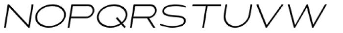 Fancy Light Oblique Font UPPERCASE