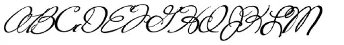 Fancy Pants Bold Italic Font UPPERCASE