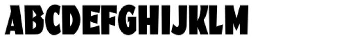 Fanfare BQ Condensed Font UPPERCASE