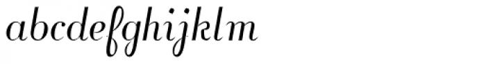 Fansi Pensle Font LOWERCASE
