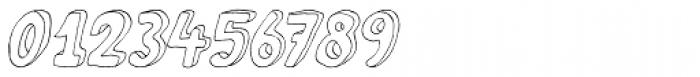 Fantastique Italic Font OTHER CHARS