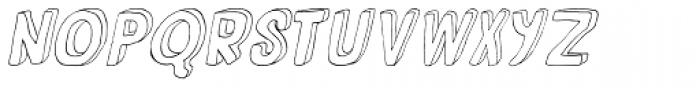 Fantastique Italic Font LOWERCASE