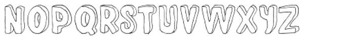 Fantastique Font UPPERCASE