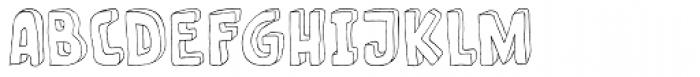Fantastique Font LOWERCASE