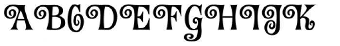 Fantini Alt One Font UPPERCASE