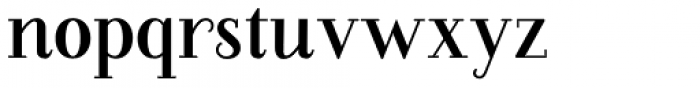 Farewell Angelina  Regular Serif Font LOWERCASE